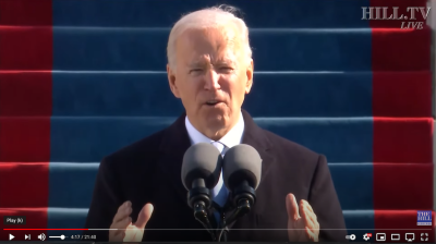 HCDP Hails Biden Message of Unity