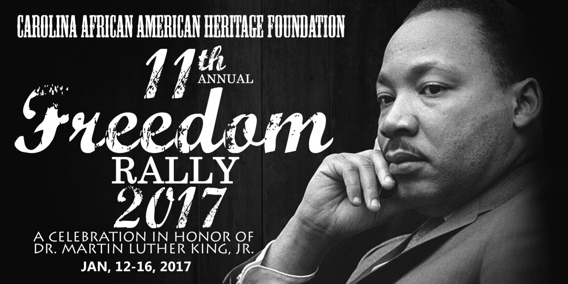 "2017 Annual MLK ""Freedom Rally"" Moves to Convention Center"