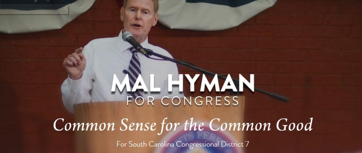 7th CD Candidate Mal Hyman Releases New Video