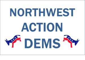 NW Action Dems logo