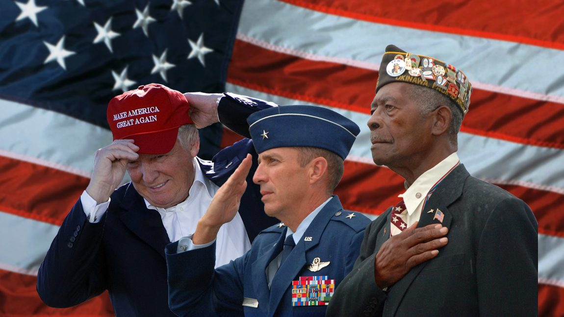 America's Armed Forces and Veterans: Are They Now Just Political Pawns?