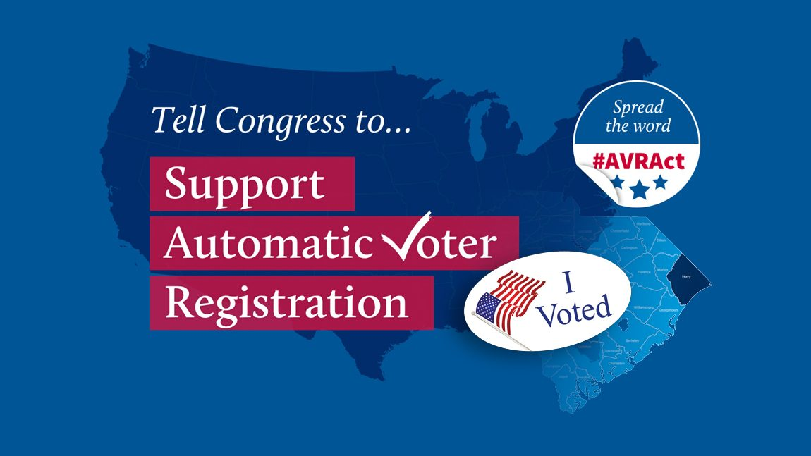 Automatic Voter Registration – Let's Take a Stand