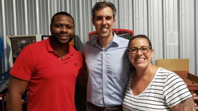 Brews, bravado and… Beto!