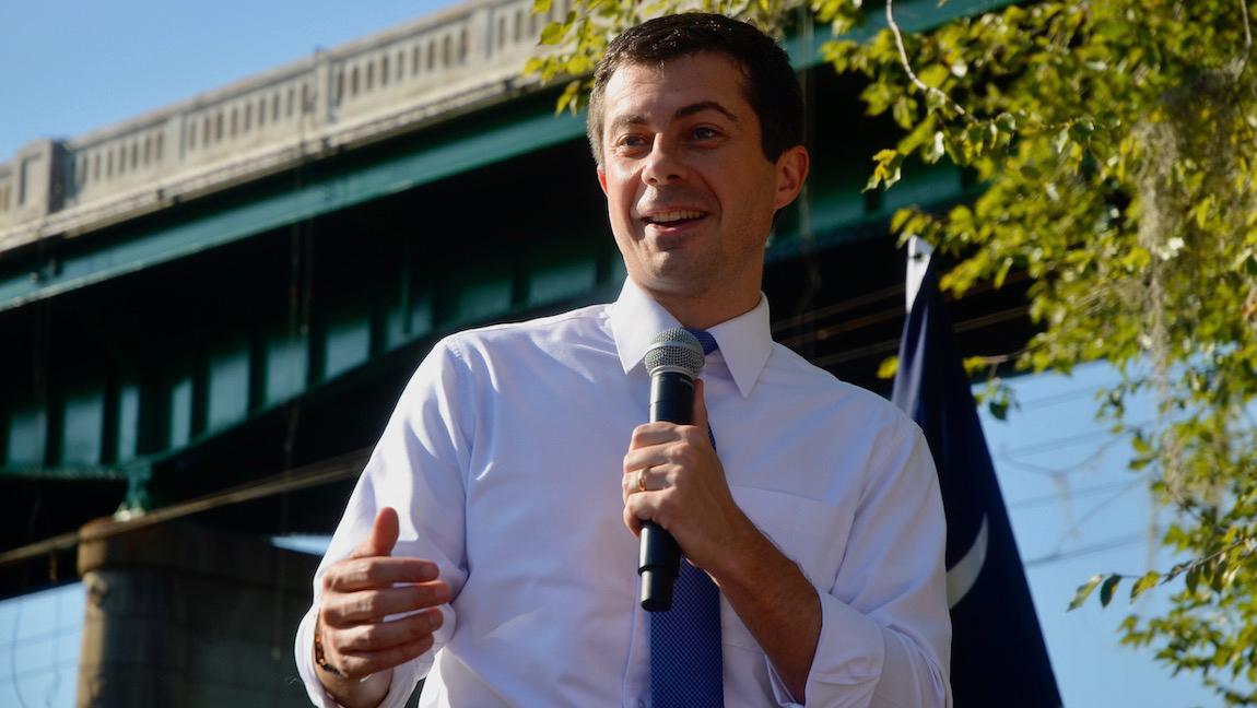 Buttigieg Unveils Disaster Relief Plan in Conway