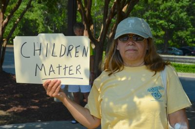 HCDP Protests Separation of Kids at Border
