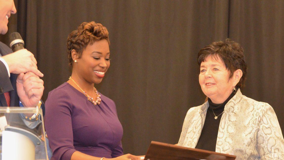 Christine Carr Honored for Gun Sense Activism