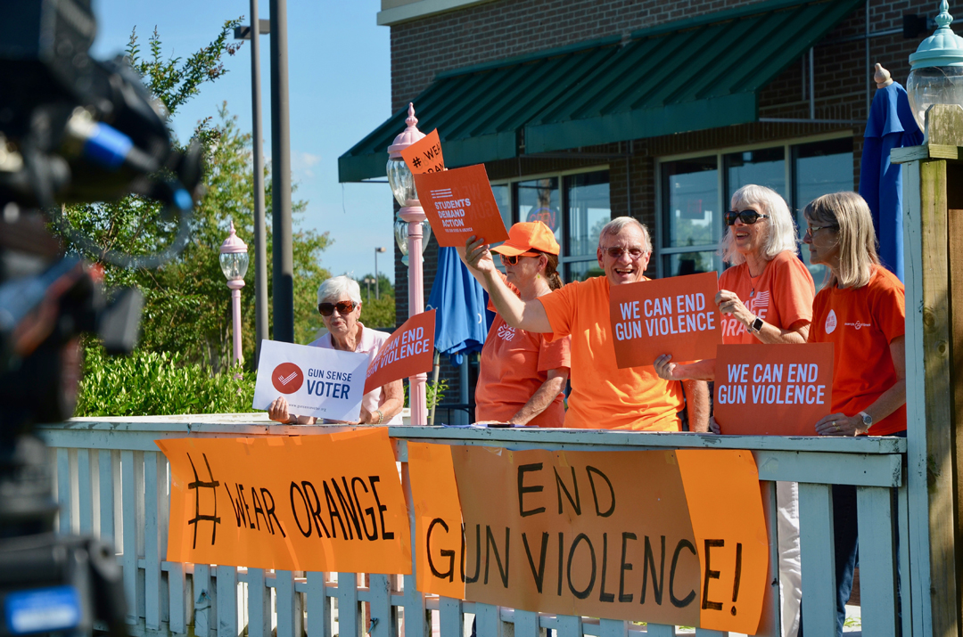 HCDP Drives for Gun Violence Awareness