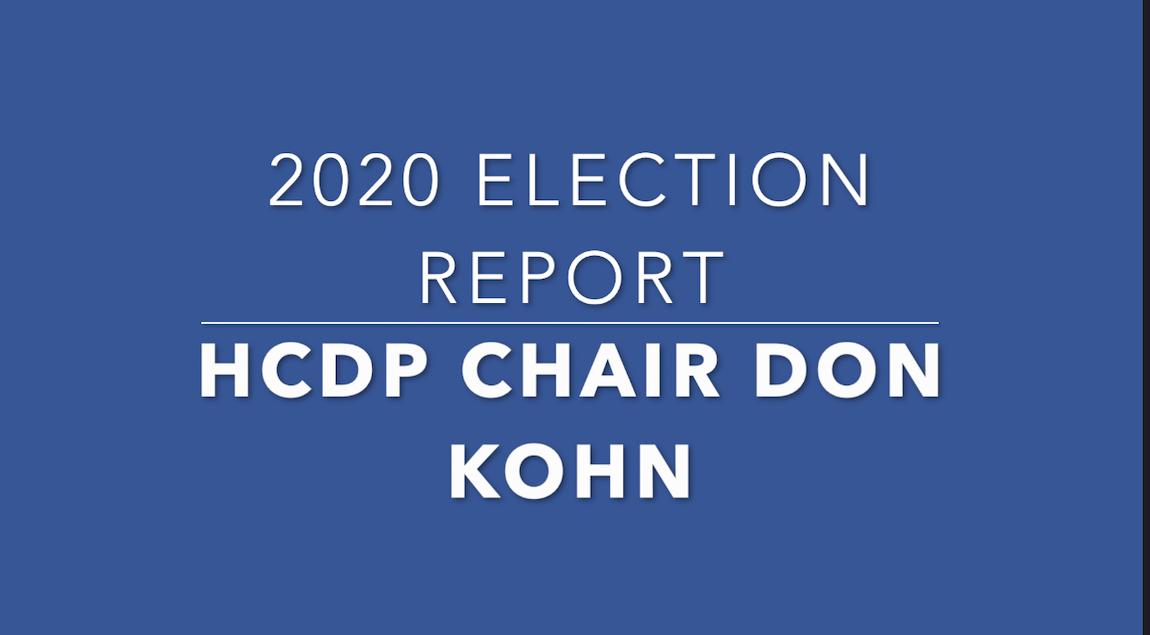 HCDP Chair Calls for Massive Dem Outreach Initiative