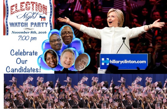 Election Night Watch Parties with Horry Democrats