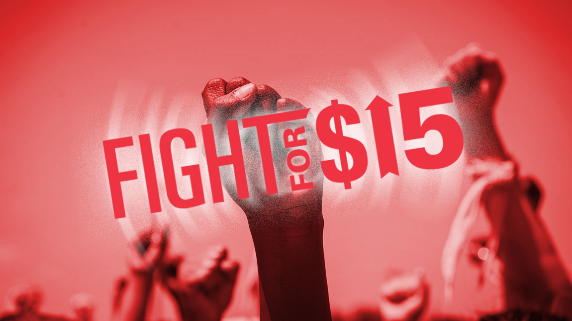 Fight for 15 organizing for a living wage