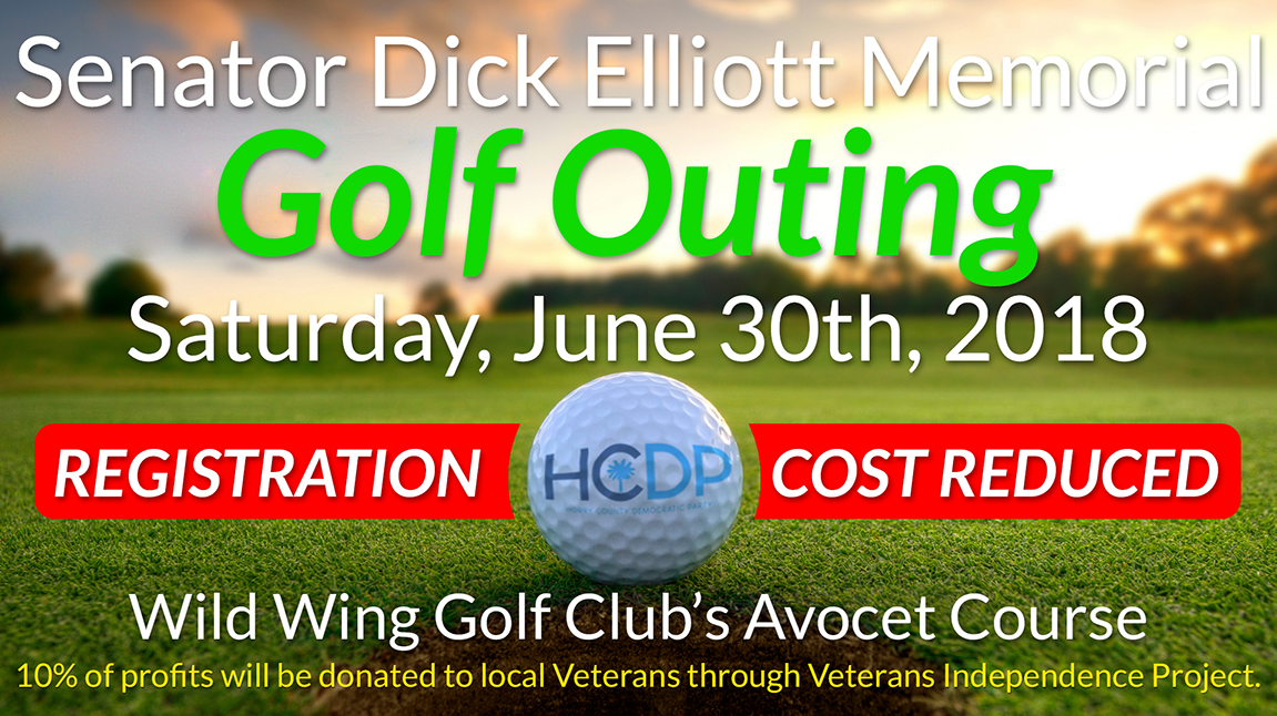 Golf Outing Registration Cost Reduced