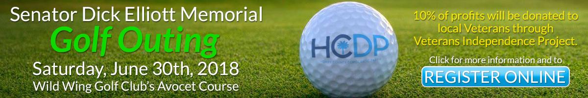 Senator Dick Elliott Memorial Golf Outing - 6/30/18