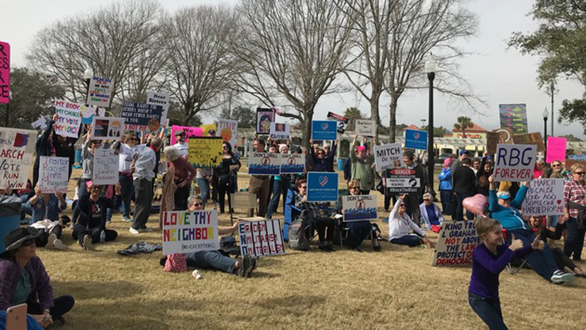 Horry Dems Join Women's March