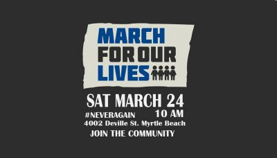 March For Our Lives, Myrtle Beach, SC
