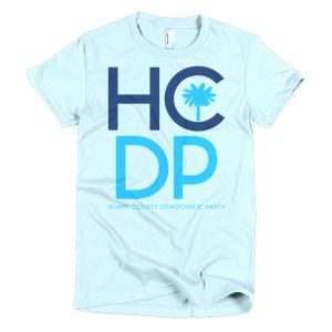 Horry County Democratic Party Short Sleeve Women's T-Shirt
