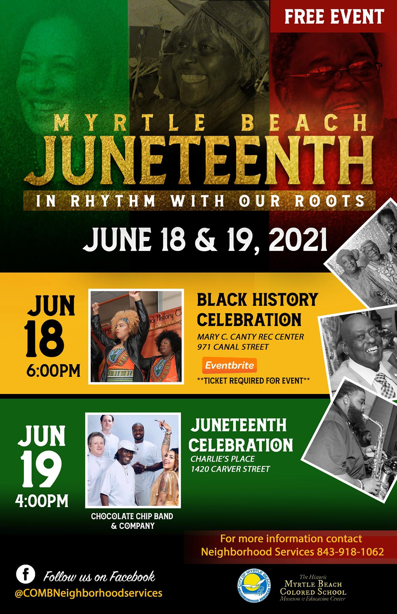 Myrtle Beach Juneteenth and Black History Celebration