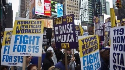 """""""Rage for the Wage"""" Rally with Mal Hyman on Thurs. 9/29"""