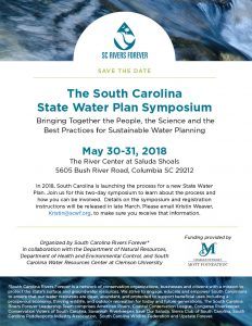 South Carolina State Water Plan Symposium