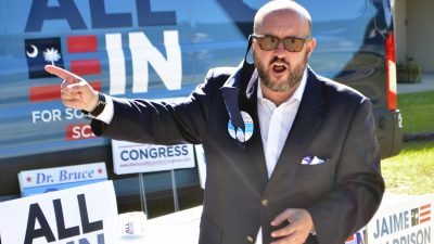 SCDP Chair Trav Robertson Comes to Horry County