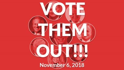 Vote Them Out!!! Comparing 2018 Midterm Candidates