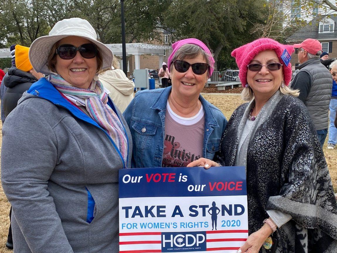HCDP Attends Myrtle Beach Women's March